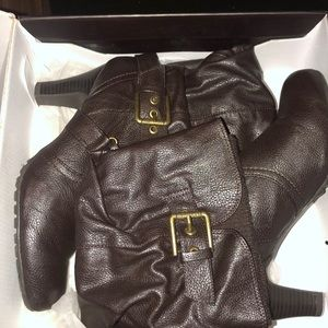 G by Guess Leather Boots